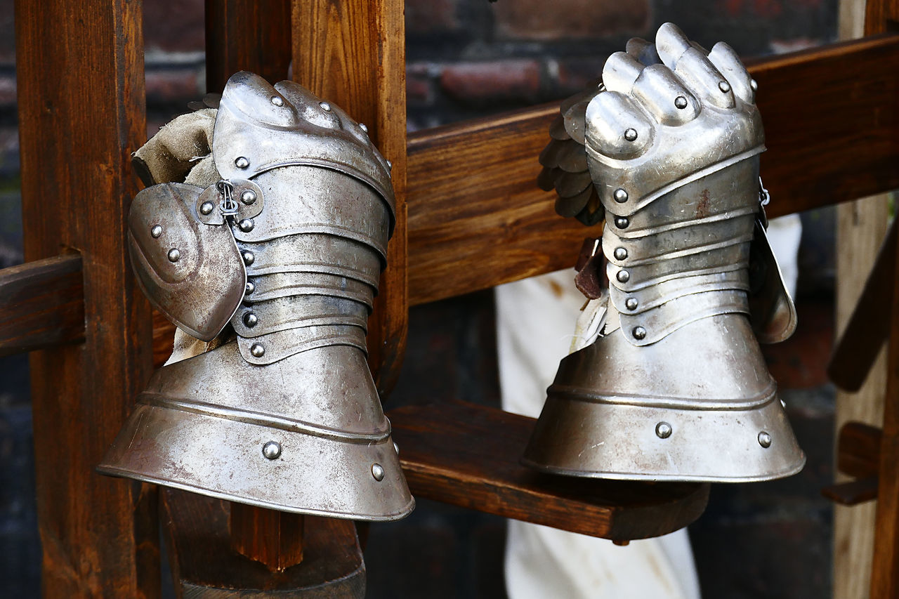 Knight Armor Close-up Knight  Metall Middle Ages Vintage