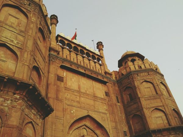 Red fort Architecture Travel Destinations Tourism Famous Place Monuments Delhi