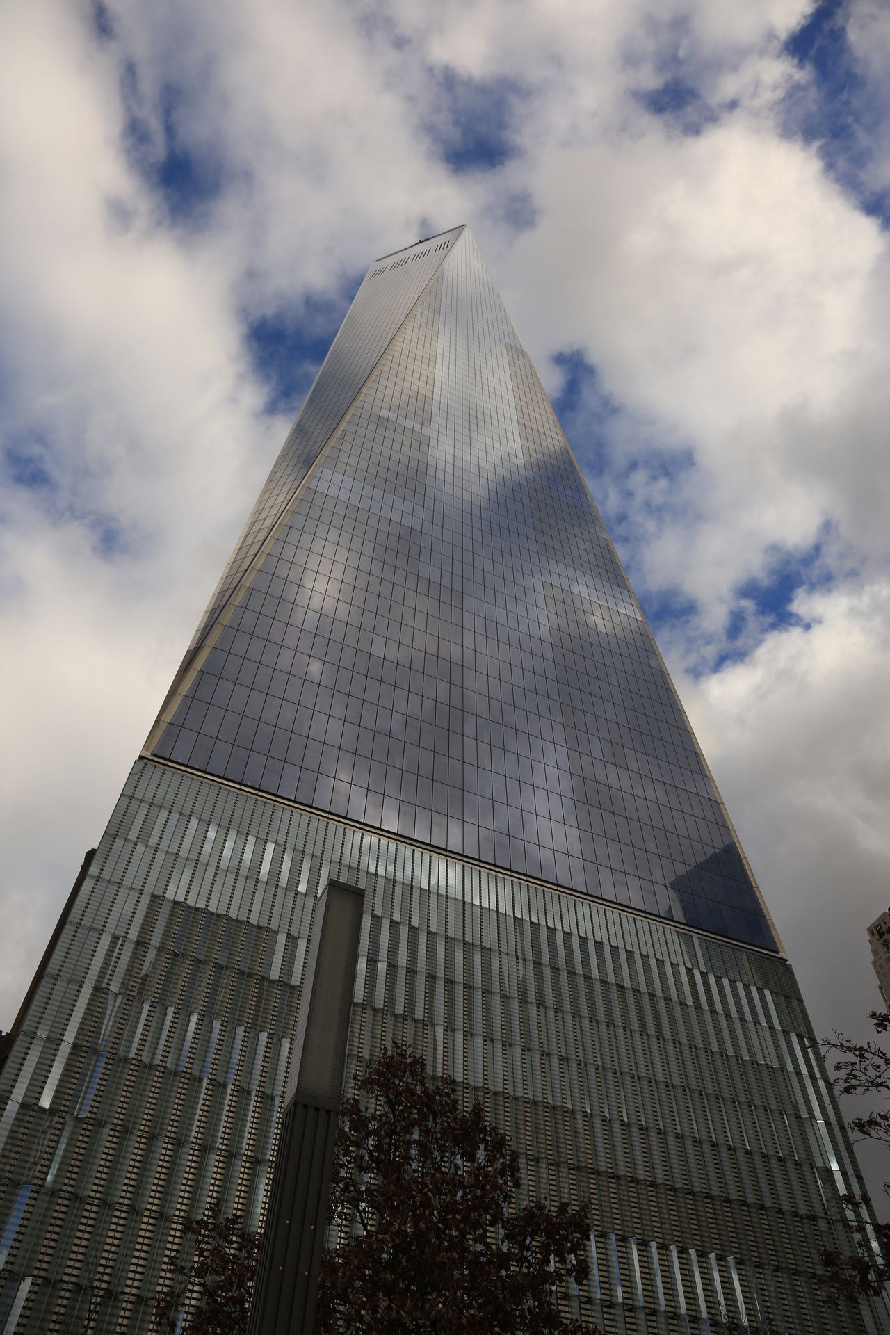 Architecture Building Exterior Built Structure City Cloud - Sky Day Glass Building Glass Building New York City Low Angle View Mirror Reflection Modern New York New York City No People One World Trade One World Trade Center Outdoors Reflection Sky Skyscraper