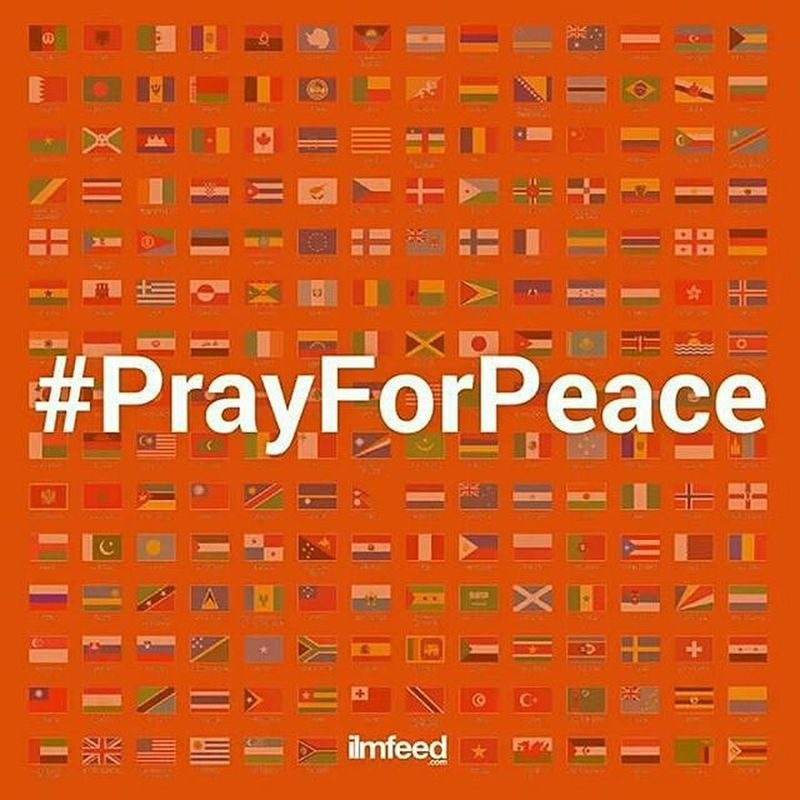 Prayforparis PrayForSyria PrayForPalestine PrayForAfrica PrayForLibya PrayForBosniaHerzegovina Prayforyemen PrayForPakistan PrayForJordan Prayforturkey PrayForChina PrayForMyanmmar PrayForPalestine Prayformalaysia Prayforindonesia PrayForKenya PrayForSingapore PrayforPeace Prayforall WorldMediaBiase