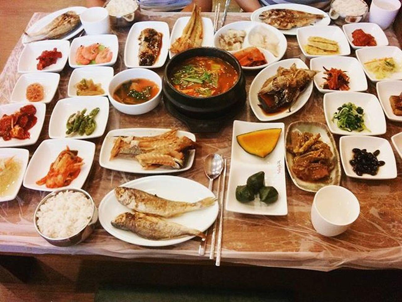 한국인의 밥상 먹스타그램 Food 영광 여행 굴비정식