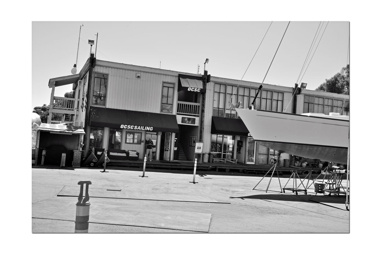 Boatyard @ Berkeley Marine Center 5 Berkeley, Ca. Boat Repair And Restoration Bnw_friday_eyeemchallenge Boatyard Boats Custom Yacht Builder Water Craft Sailboats OCSC Sailing School Not Quite Ready For Water Boats On Stands Boats Being Repaired Hulls Masts Marina Building Yachts Keels  Black & White Black And White Photography Black And White Collection  Black And White Monochrome Boat Being Prepped For Painting