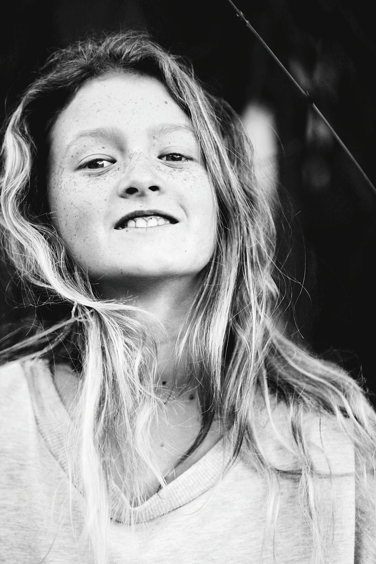 Portrait Girl One Girl Only Teen Teenager Teenage Girls Long Hair Close-up One Person Blond Hair People Beautiful People Looking At Camera Freckle Freckles Freckled Girl Expression Beauty Fashion Youth Blackandwhite Black And White Black & White Beautiful Girl EyeEmNewHere Resist The Portraitist - 2017 EyeEm Awards