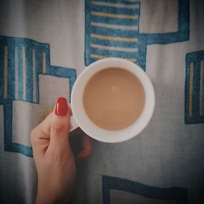 Having a nice time! Breakfast Atbed Coffee Happyholiday VSCO Afterxmas