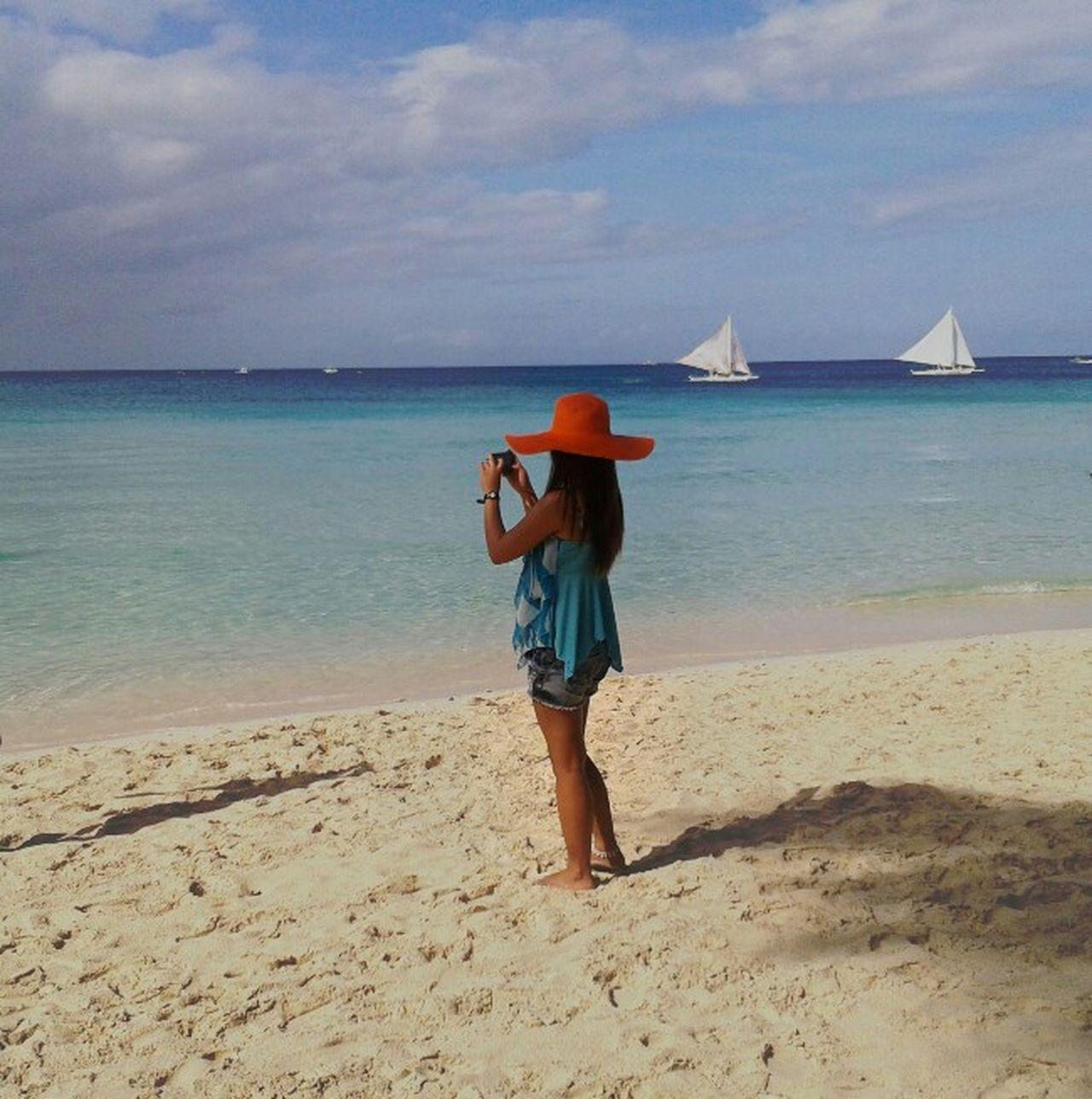 Boracay. Thank You White Beach Boracay Philippines Tourist Destination Enjoy Life Birthday Celebration 2015  That's Me