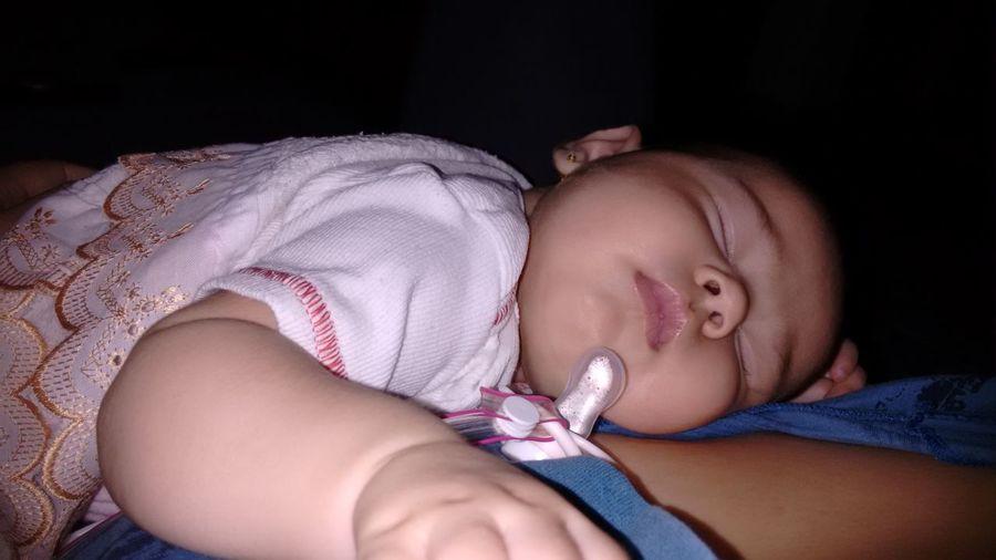 Com ela ..linda ja ta dormindo First Eyeem Photo