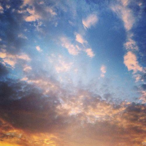 Good Morning Morning Cruising Clouds Sunrise
