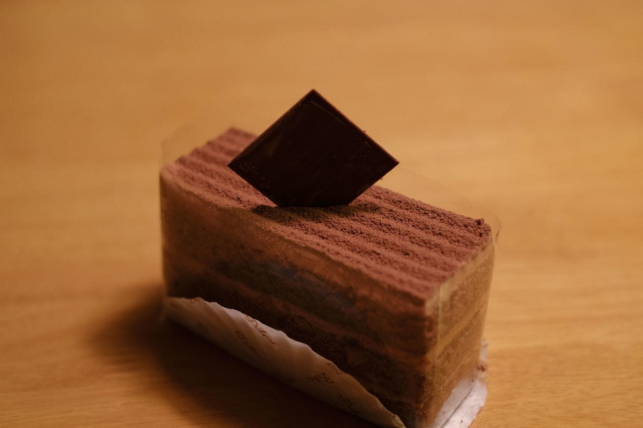 ドルチアの生チョコレートケーキ/Chocolate Cake Cake Chocolate Cake Food Foodporn Fujifilm FUJIFILM X-T2 Fujifilm_xseries Japan Japan Photography X-t2 ケーキ ケーキ 生チョコレートケーキ