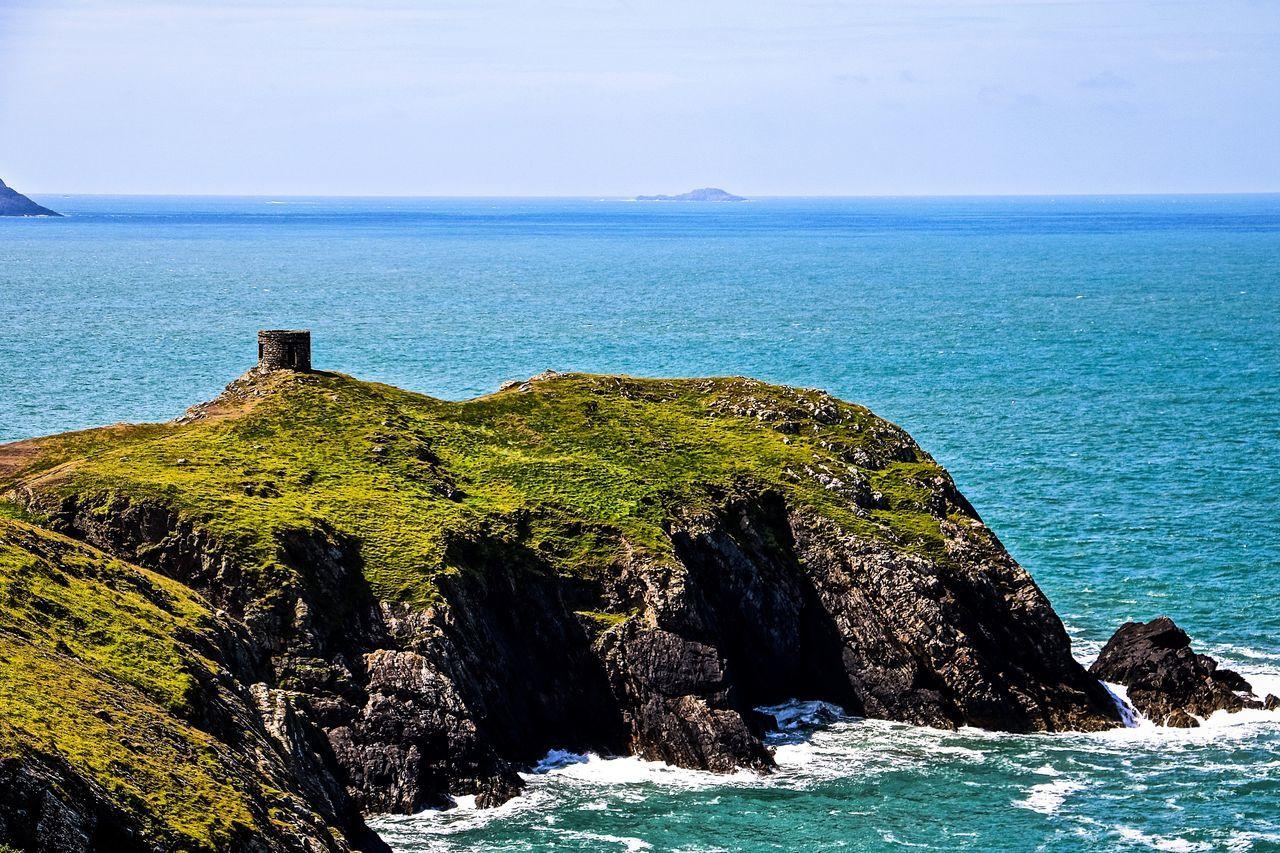 Beauty In Nature Horizon Over Water Idyllic Nature Pembrokeshire Pembrokeshire Coast Scenics Sea Seascape Wales Wales❤ Water Waterfront