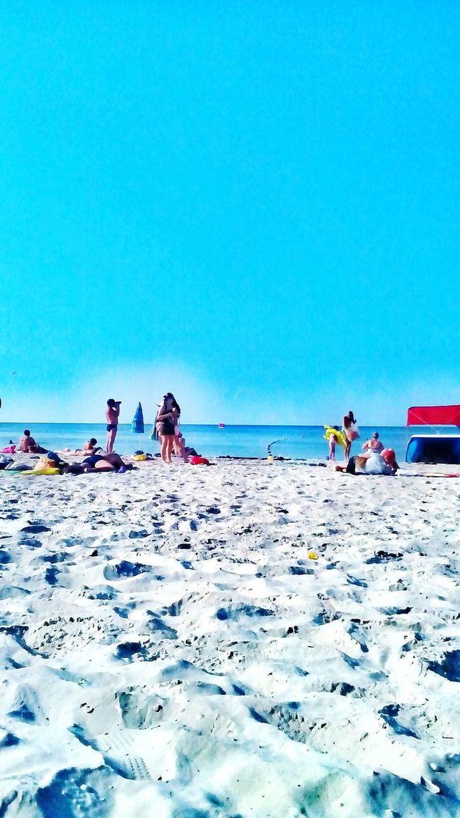 Life Is A Beach Enjoying The Sun Black Sea