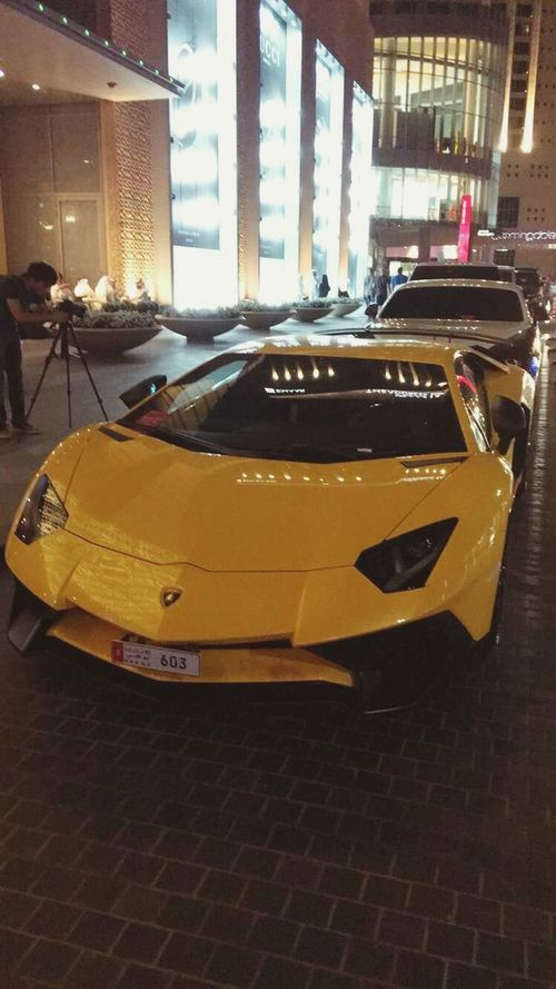 Car Race Fast Yellow Lamborghini Italy First Eyeem Photo