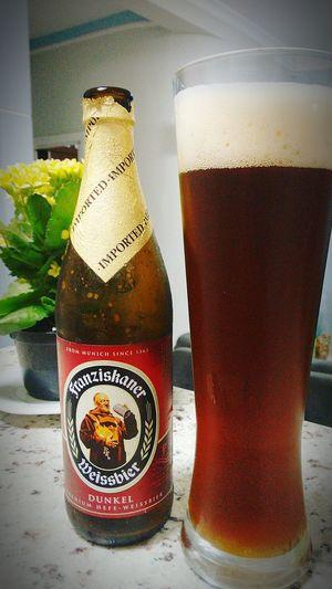 First BierBier Time Cervejaartesanal Cerveza Franziskaner Weissbier Dunkel