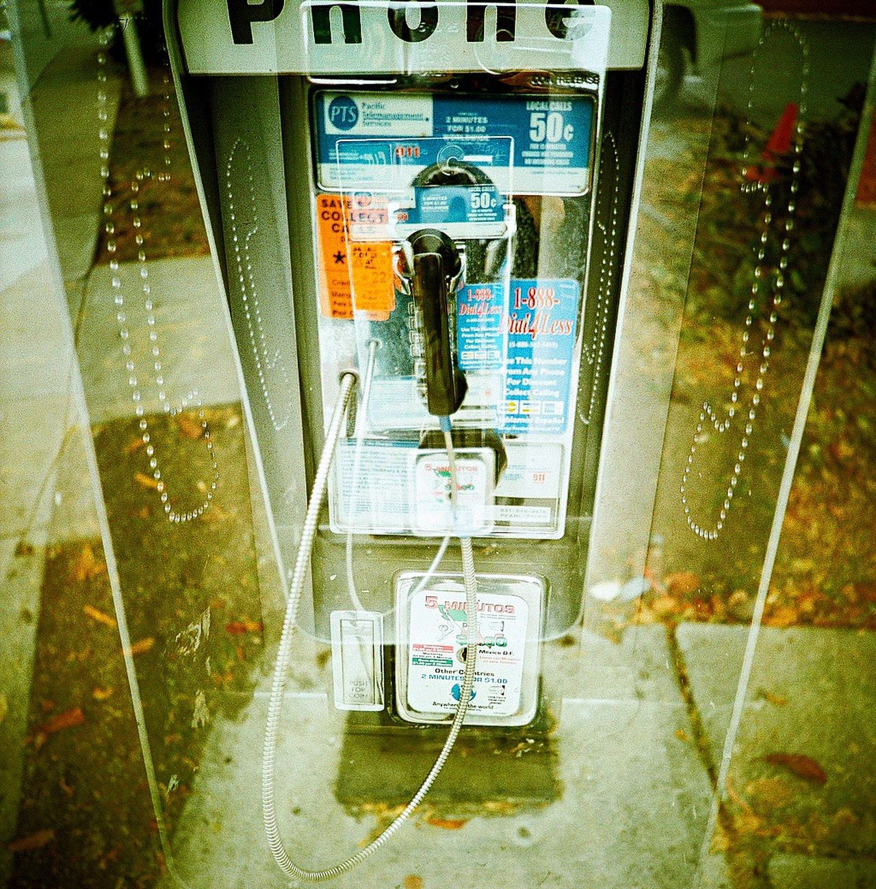 Koduckgirl Film Photography Film Pay Phone Telephone Booth