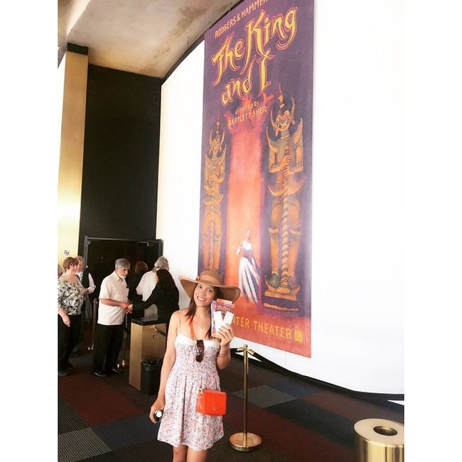"""This is fabulous show today """"The King and I"""" Broadwayshow KingAndI Bartlett_sher Lincolncenter theater hammerstein rodgers ken_watanabe @torratymakeup @drerossin"""