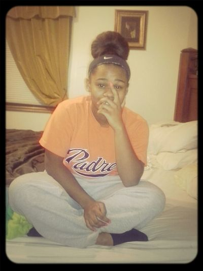 Sweat Pants . Hair Tied . Chiling W| No Make Up On . Old To Me New To You