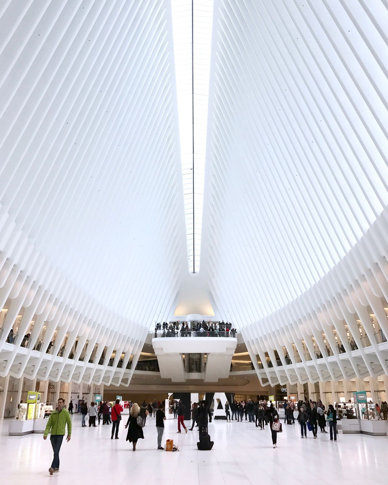 Oculus Calatrava Architecture Architecture_collection Architectural Feature Large Group Of People People The Architect - 2017 EyeEm Awards EyeEm Gallery EyeEm EyeEm Best Shots City Architecturelovers Check This Out Travel Destinations Crowd Streetphotography New York City New York Street Photography Modern Architecture City Life Mobilephotography IPhone Illuminated BYOPaper!