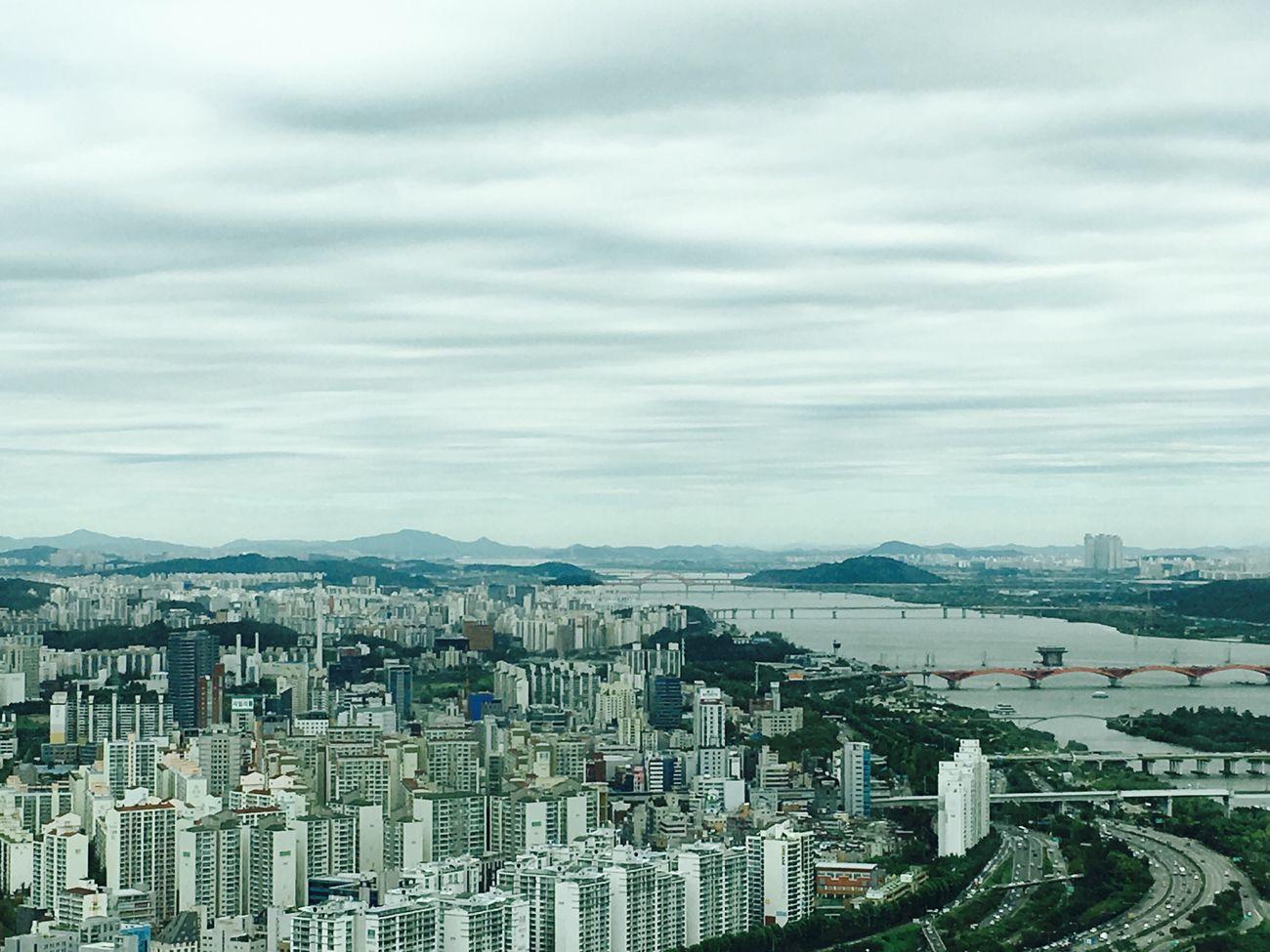 Seoul, Korea From My Window Gloomy Weather is My Favorite Weather