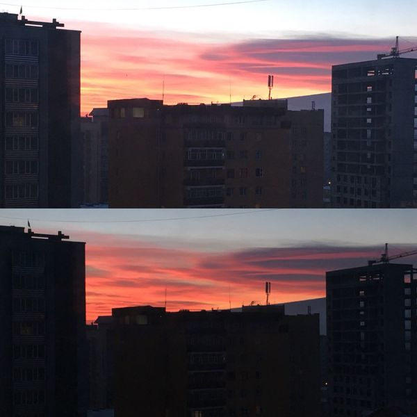 difference between 5mins. Beautiful Taking Photos Lookinguptothesky