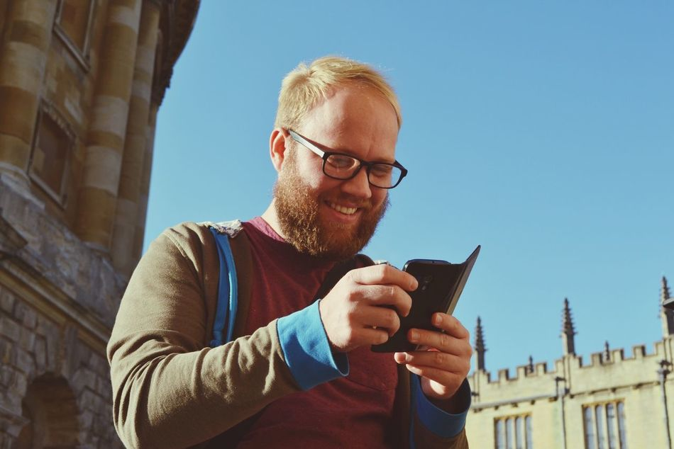 Beautiful stock photos of text message, Architecture, Beard, Built Structure, Casual Clothing
