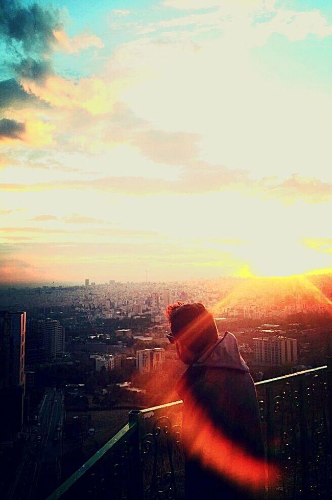 Hi! Tehran View My City I Love My City Suny Day Amazing View Bam Mahak