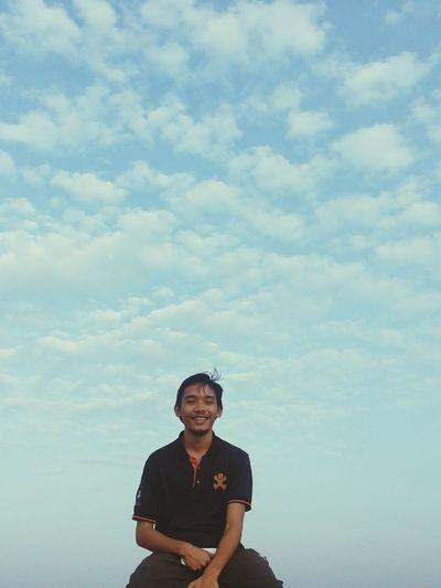 Portrait Of A Friend Sky And Clouds Friend