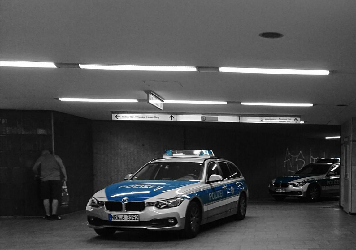 Police Ebertplatz Cologne Bluewhite Trainstation Ubahn EyeEmNewHere Second Acts