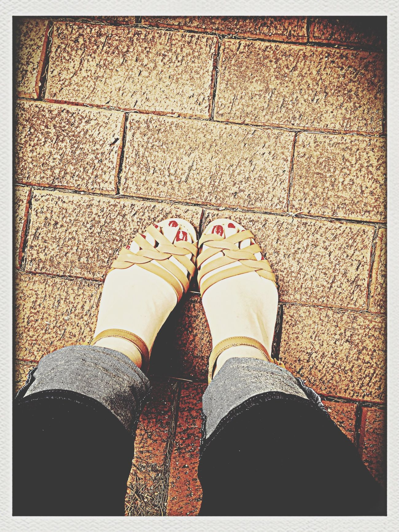 Sunday Summer Sandals Vintage