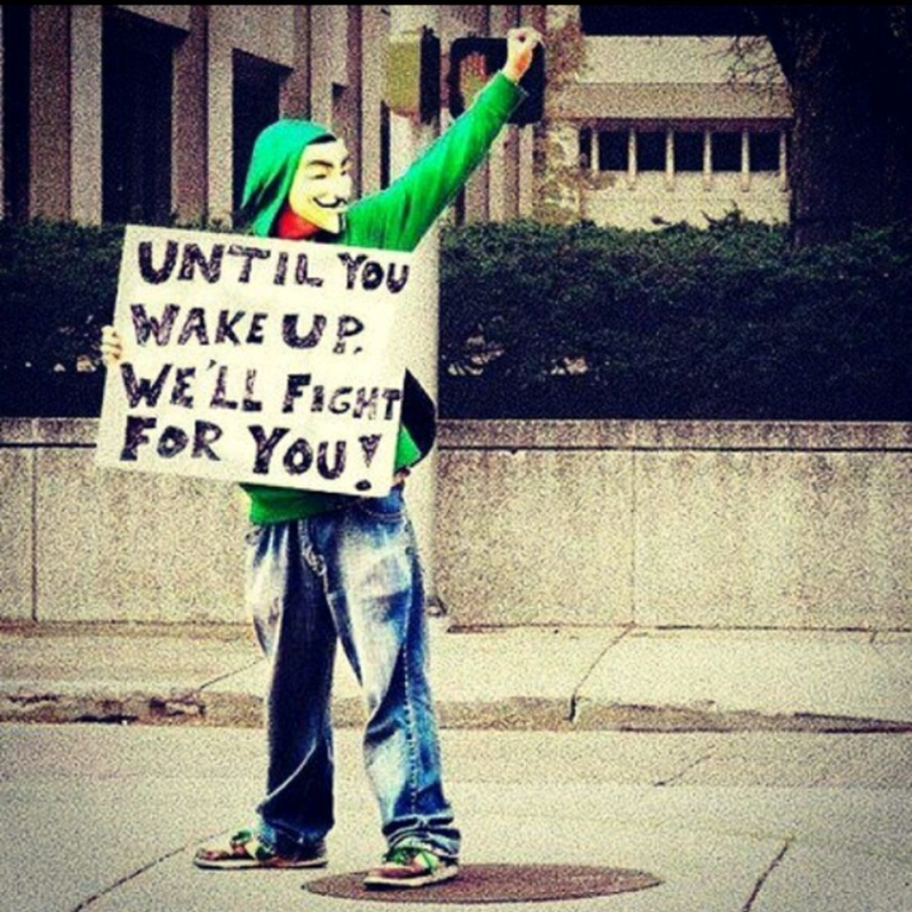 Anonymouswe are legion Speak The Truth Be The Change