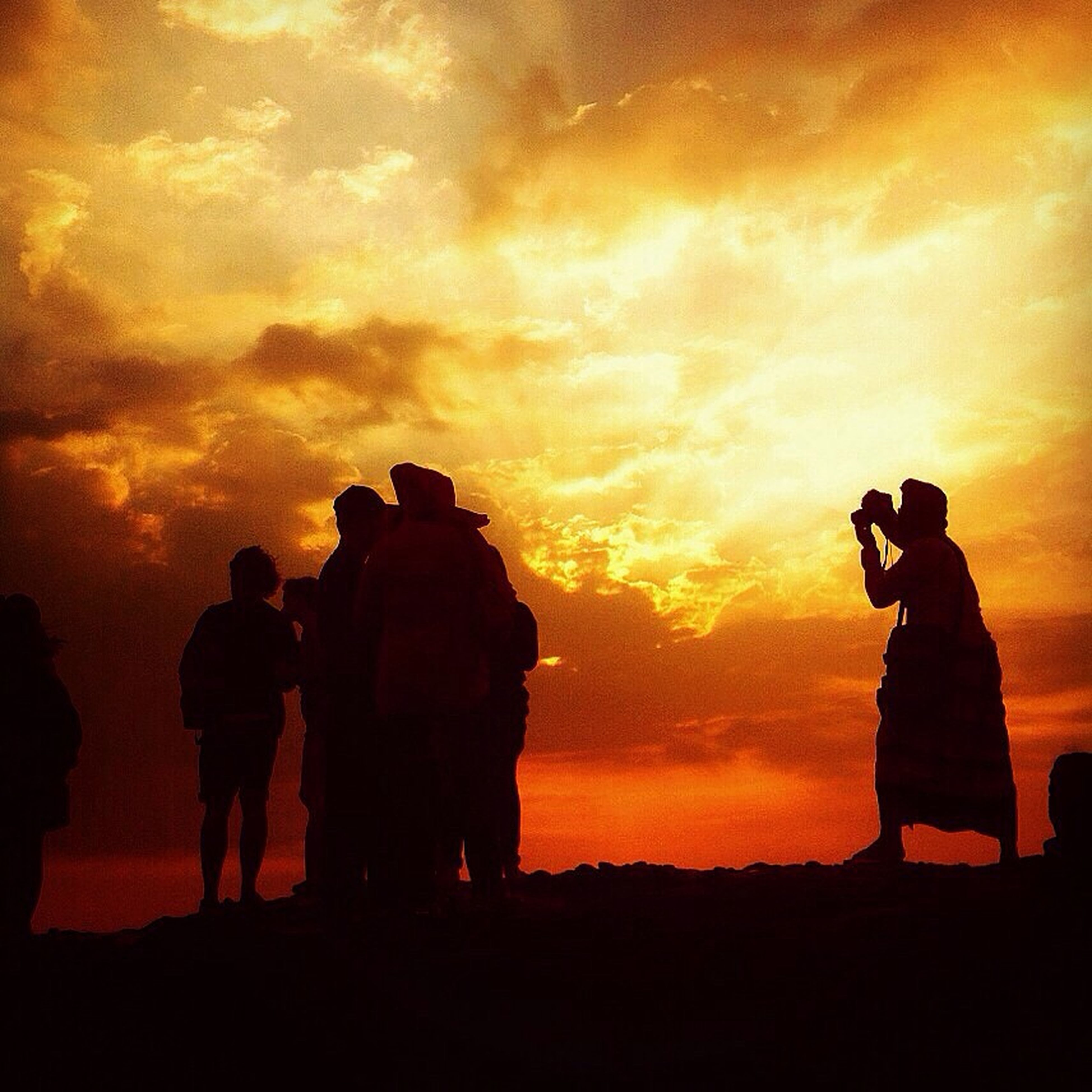 """Let's Take Picture Sir..."" EyeEm Best Shots EyeEm Nature Lover Sunset #sun #clouds #skylovers #sky #nature #beautifulinnature #naturalbeauty #photography #landscape Indonesia_allshots"