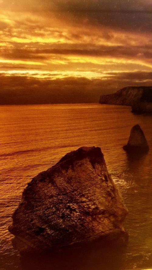 Good Morning World Natural Landscapes coastal england Sunrise