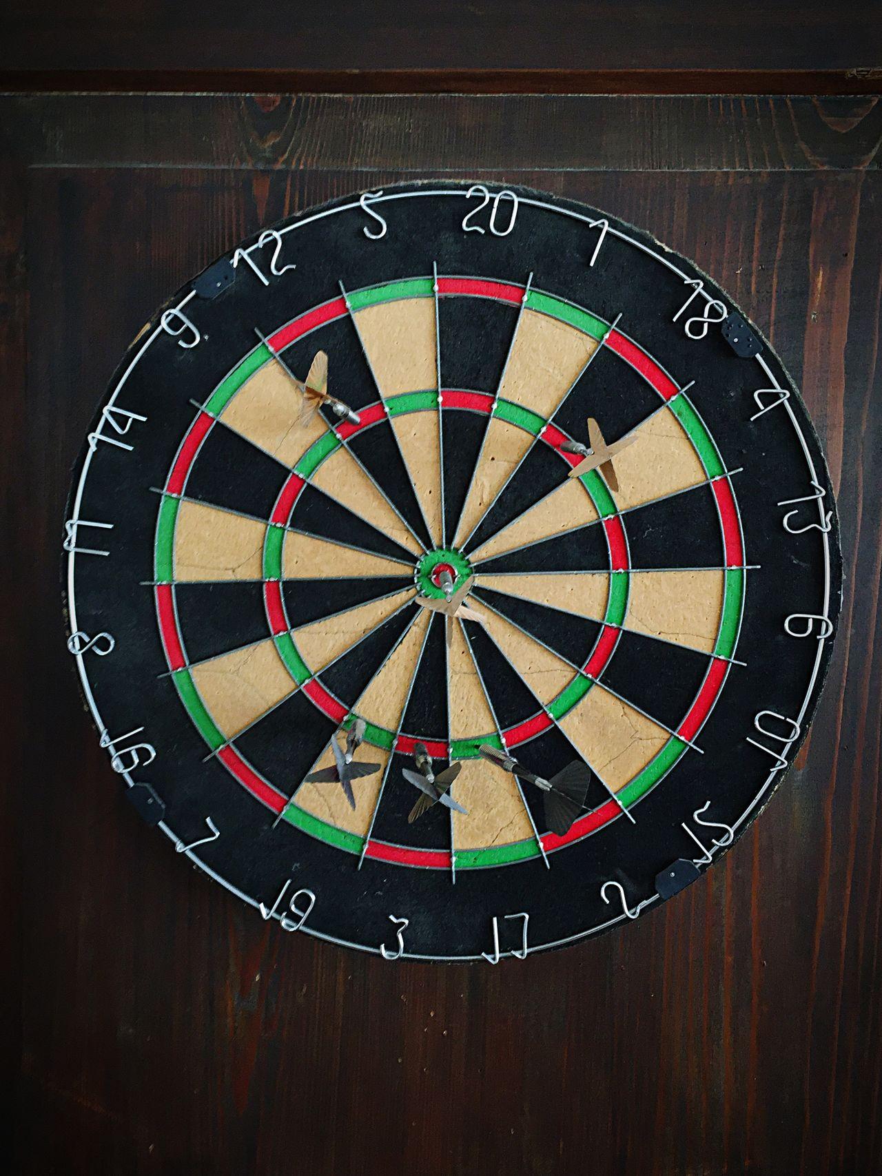 Ziel Target Darts Aim Bang On Target