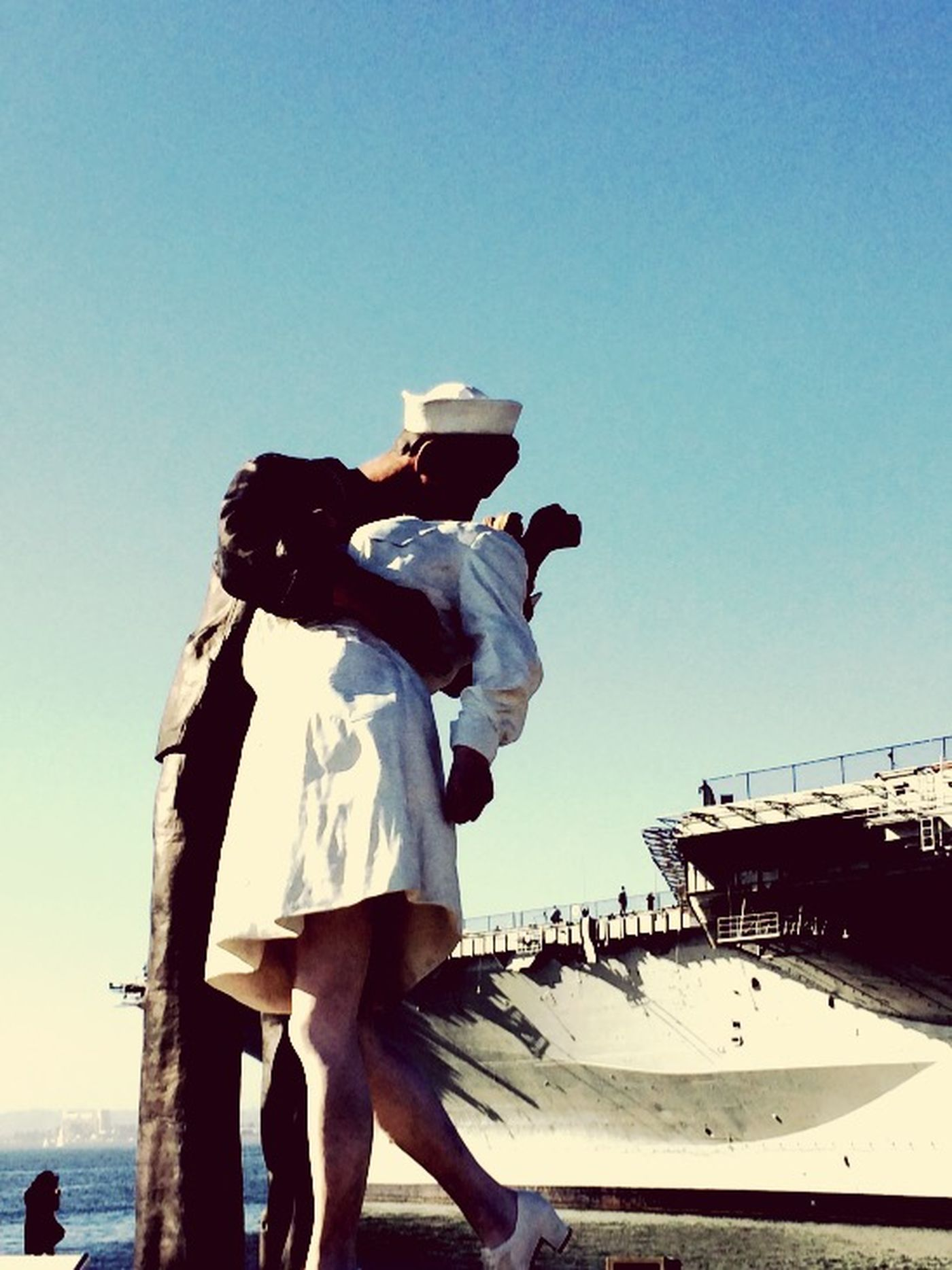 Besos Sailor Nurse Sailor's Life Navy San Diego USS Midway  California