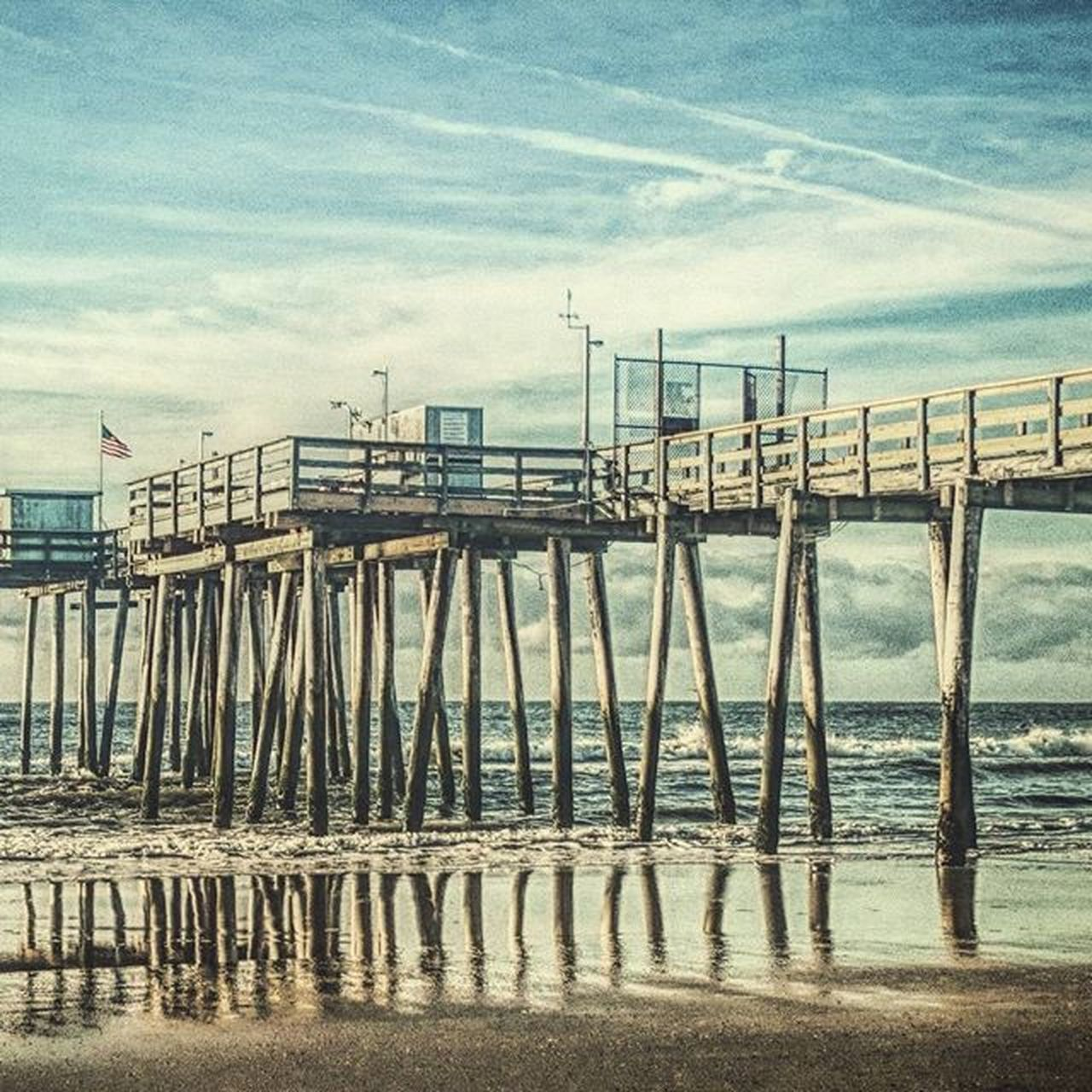 sky, sea, beach, water, sand, outdoors, day, built structure, nature, pier, no people, cloud - sky, architecture, horizon over water, scenics, beauty in nature