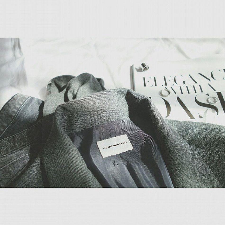 ➕ Fall for Grey ➕ Fall Allgrey Ootd Clubmonaco nobrand fashion styling 데일리룩