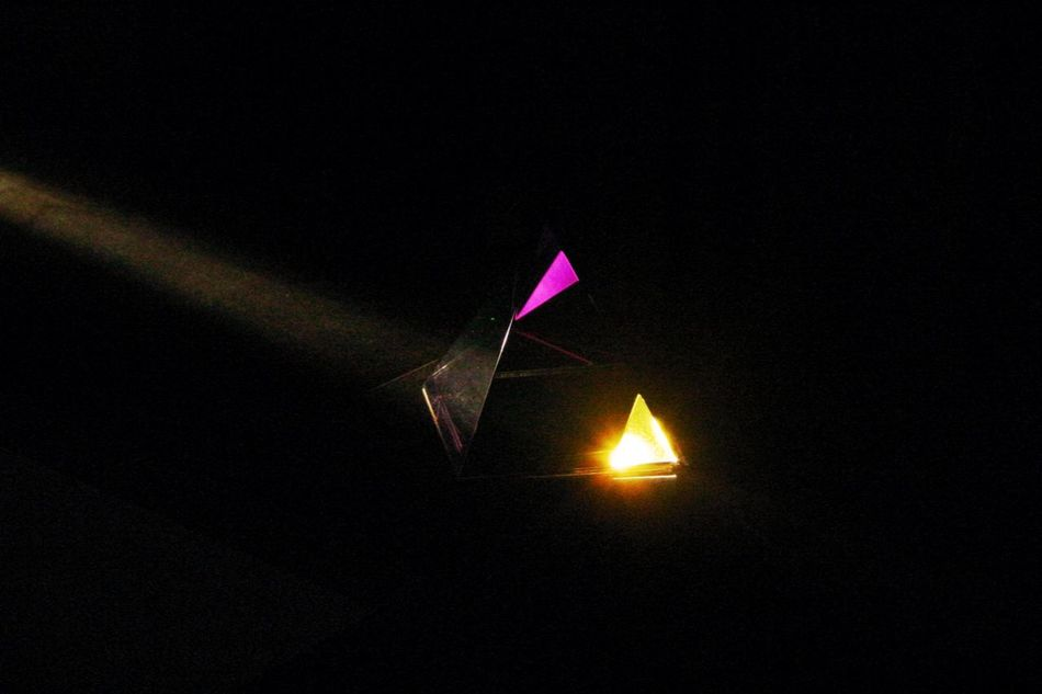 light, colour and shadow Colorful Illuminated Light Night No People Outdoors Prismacolor Reflection