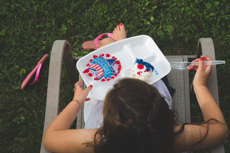 Beautiful stock photos of 4th of july, 6-7 Years, Armchair, Cake, Caucasian Ethnicity