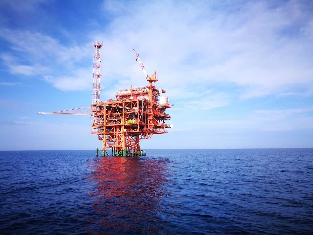 Offshore Platform Sea Oil Industry Sky Gas Outdoors Cloud - Sky No People Nature Industry Horizon Over Water Day Business Finance And Industry Oil&gas Oil&water Water Environment Fresh On Eyeem  Croatia Industry Oil Gas Adriatic Sea Fresh On Eyeem  FreshonEyeem