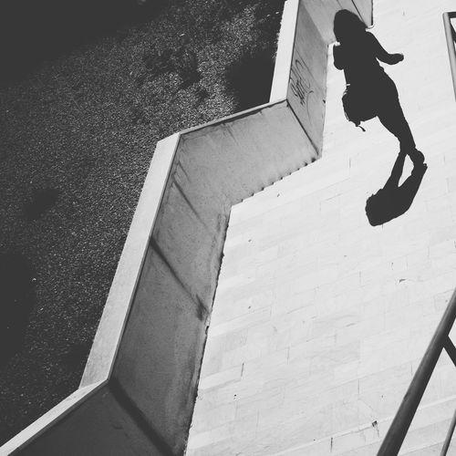 Stairways Girl