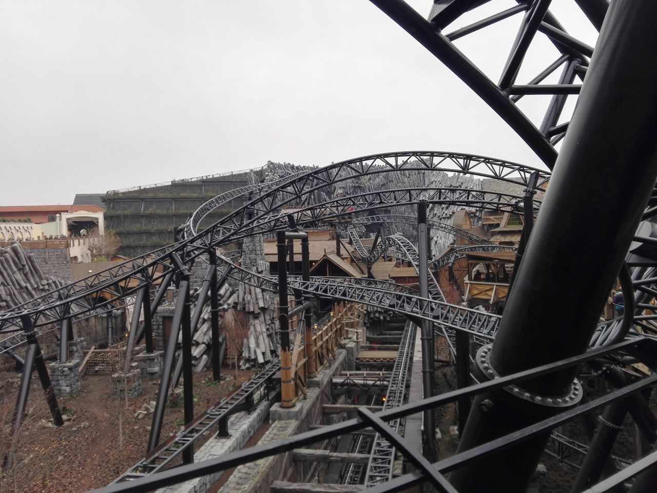 Architecture Built Structure Day My Year My View No People Outdoors Phantasialand Rollercoaster Sky Taron
