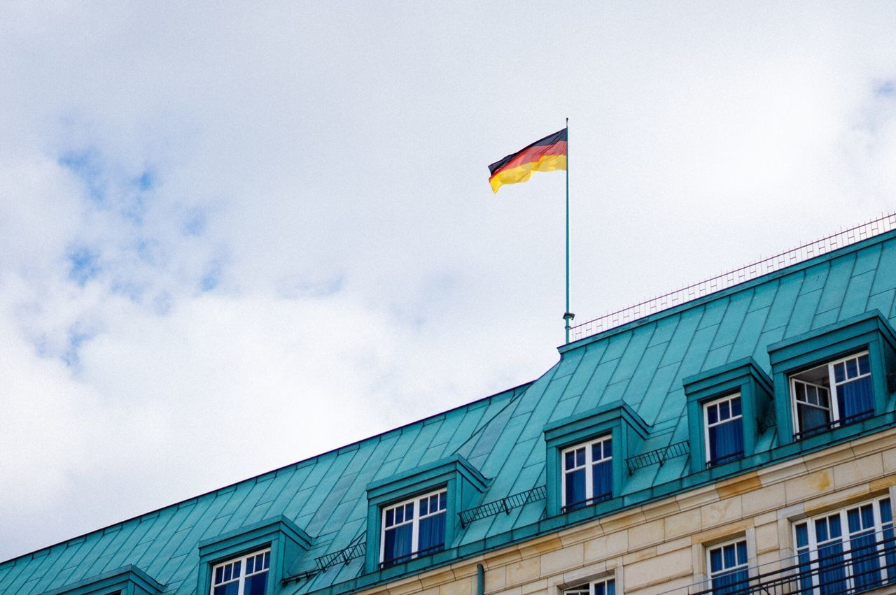 Flag Streetphotography Building