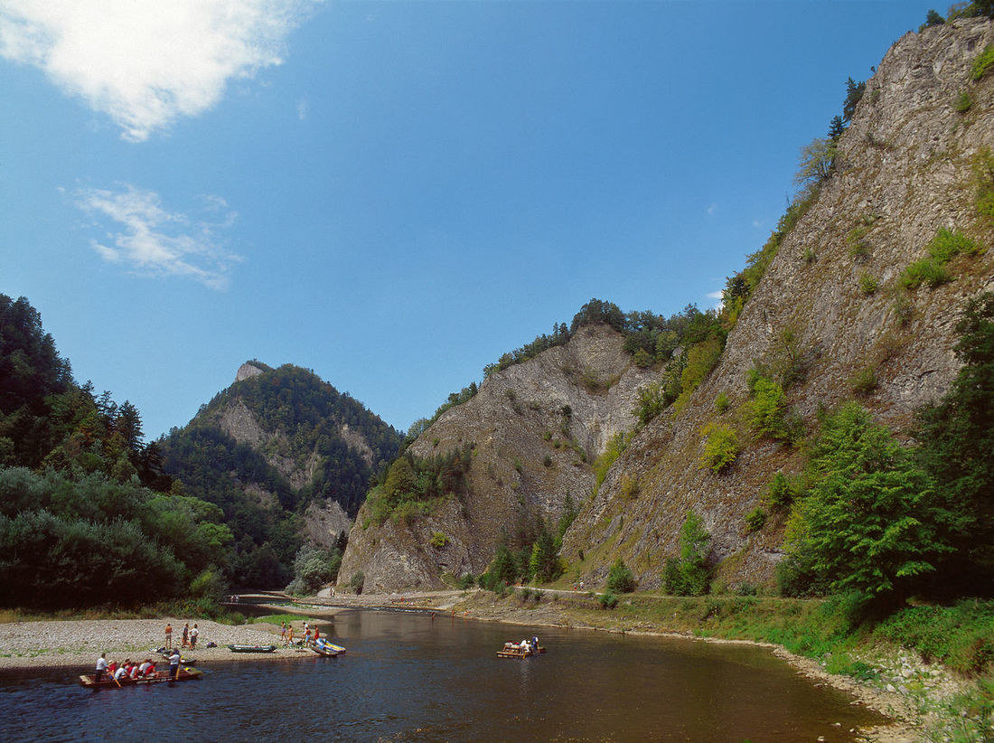 Beauty In Nature Day Dunajec Dunajec River Mountain Mountains National Park Outdoors Pieninski National Park Pieniny Pieniński Poland Polen Raft Rafting River