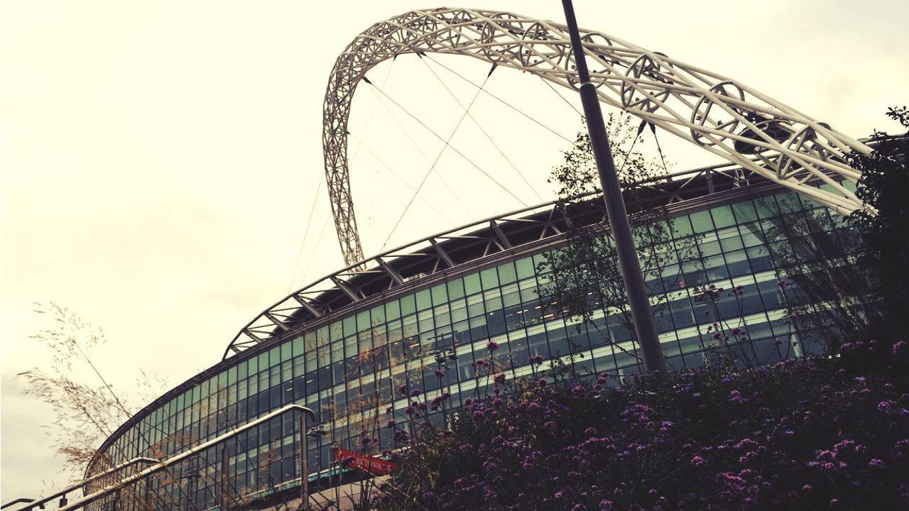 Wembley Stadium London View Outside Summer Chill Xfactor Catching A Show Tgif Architecture