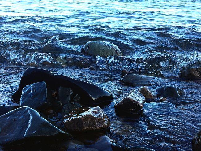 Sea Stones Waves And Rocks Nature