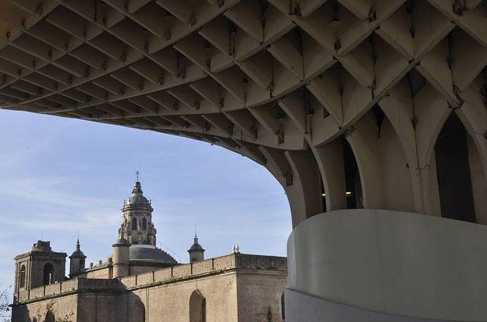 Sevilla . . . . . . . . . . . . . . . . . . . . . . . . . Sevilla Seville SPAIN España Andalusia Andalucía S Sky Ancient Antiguo Cascoantiguo Freetheniple To  Tower Torre Setas Seta