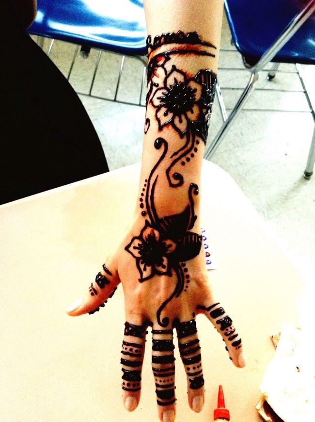 Hanna done by me Art Henna Tatto Tattoo Tattoo Design