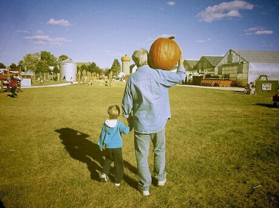 Father and son on a farm carrying a pumpkin EyeEm Best Shots Photooftheday Eye4photography  EyeEmbestshots Fall Colors Fall_collection Autumn Collection Color Walking Hand In Hand Daddy And Son Fatherandson Fatherhood  Father And Son Pumpkinpatch Pumpkin Patch Farm Life Farm Dad And Son Pumpkin Pumpkins Father & Son Fall Autumn Carry Color Photography