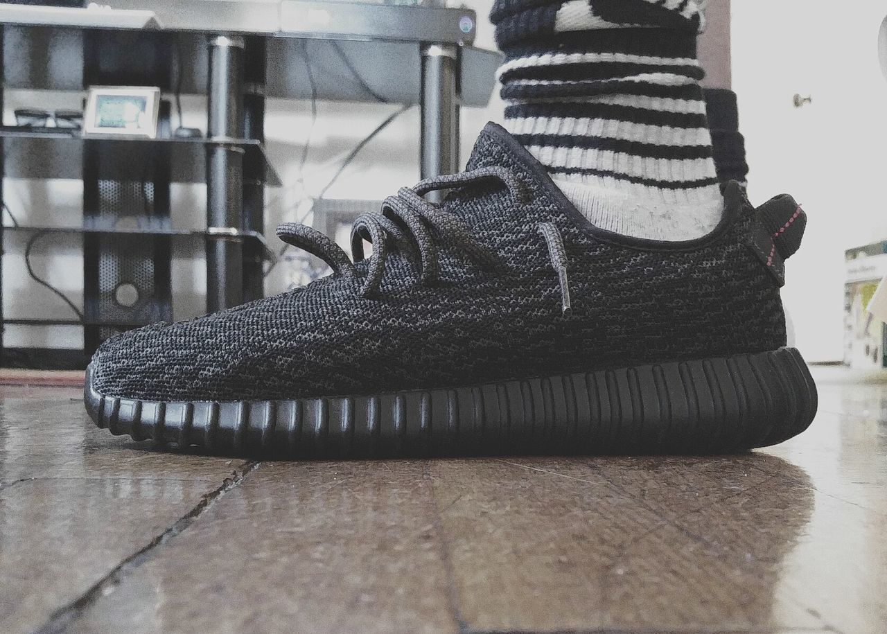 Indoors  Day No People Close-up The City Light EyeEmNewHere Traditional Clothing Shoe Sock Men Yeezy Boost 350 KANYE WEST