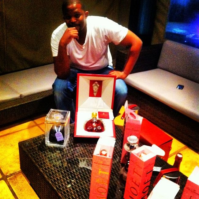 LouisXIII Moet Patron Birthday