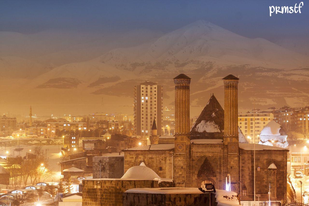 Erzurum Cifteminare Palandökendağı üçkümbetler Atauni Canoneos