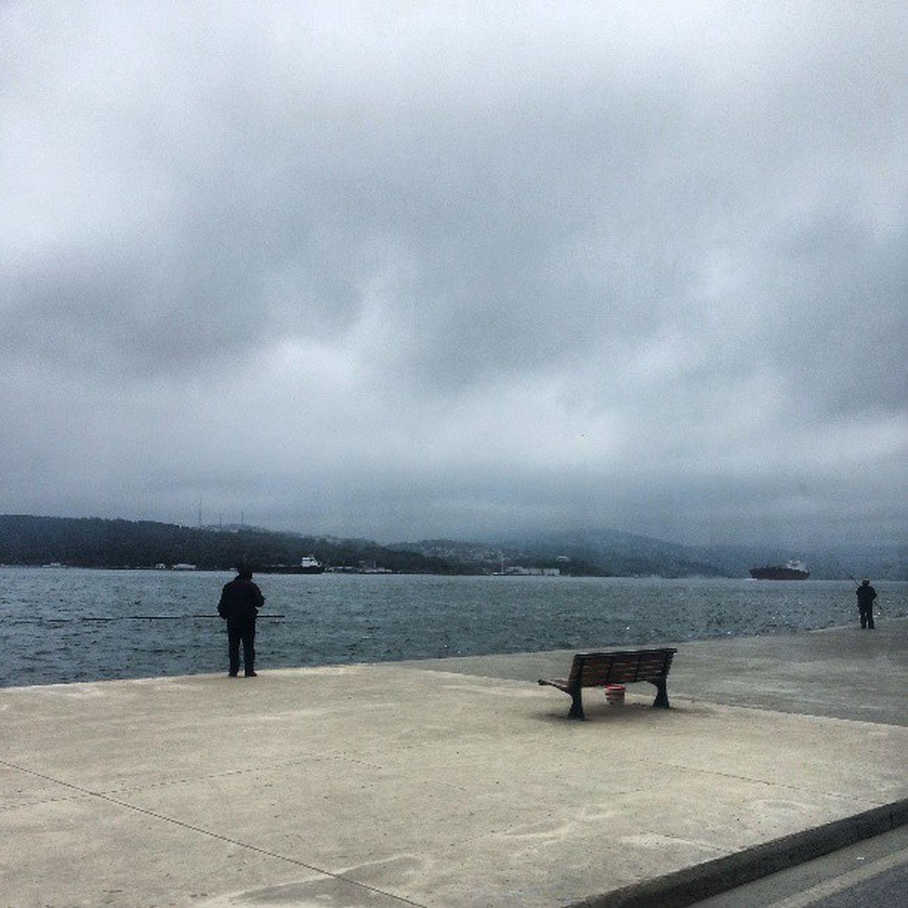 Puslu ve guzel bir gun! Istanbul Instaturk Instadaily Instapod Turkishfollowers Türkiye Igersturkiye Bosphourus Sea Love Daily